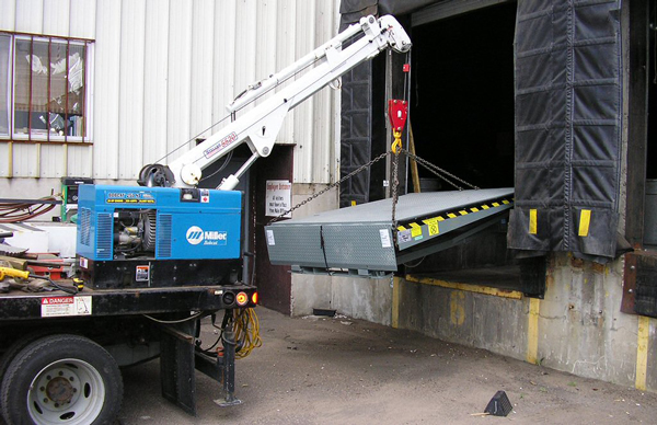 loading dock installation, loading dock equipment, quality workmanship, competitive rates, dock leveler installation, dock leveler equipment